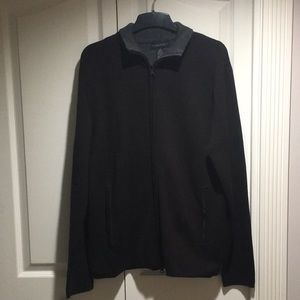 Banana Republic men's merino zipped sweater size M